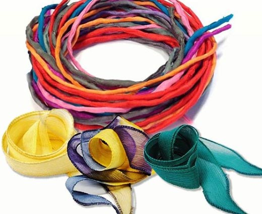 Silk Cords and Ribbons