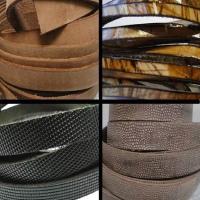 Vintage Style Flat Leather