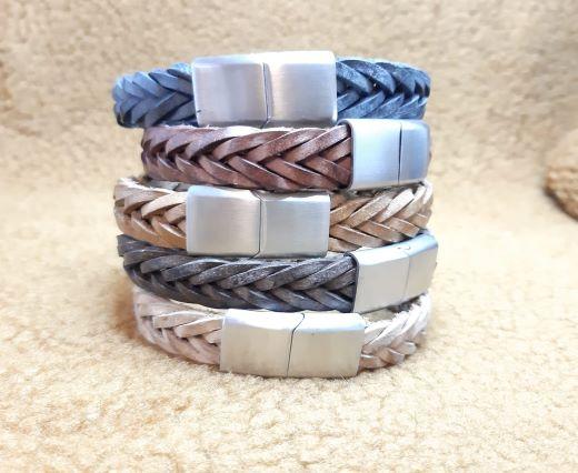 Leather Bracelets Supplies 15mm*4mm-1