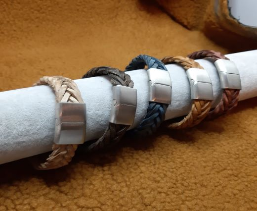 Leather Bracelets Supplies 15mm*4mm-2