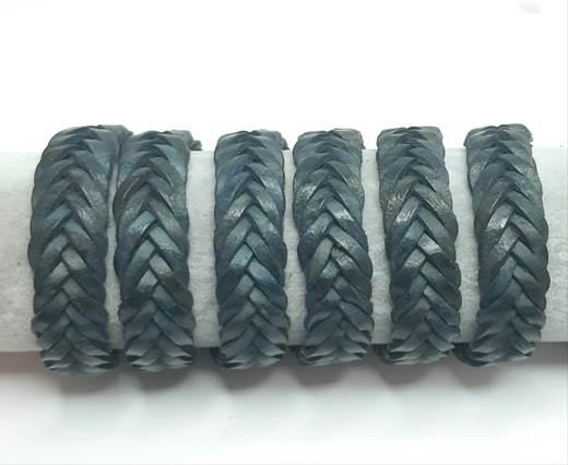 15mm-Flat Braided-Blue