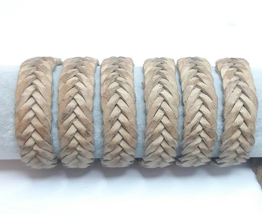 15mm-Flat Braided-Natural
