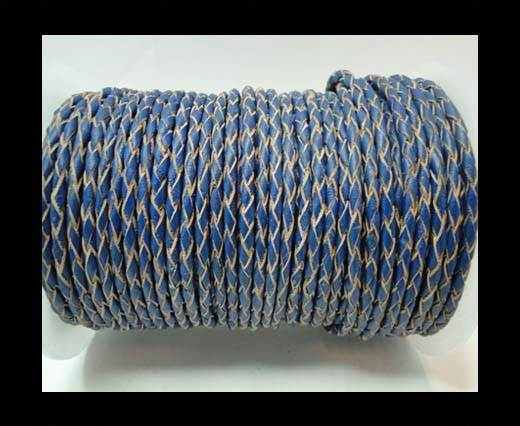 Round Braided Leather Cord-3mm- SE B 2024