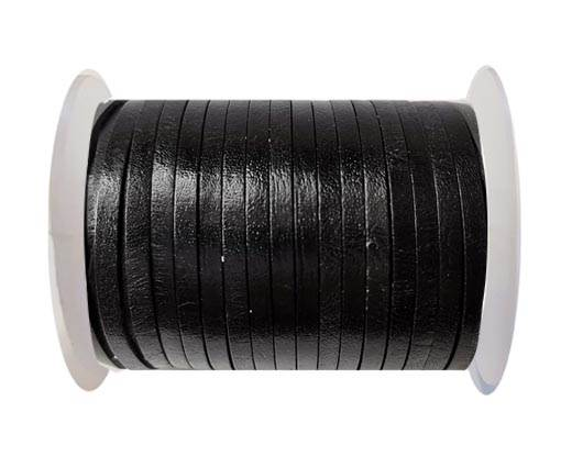 Cowhide Leather Jewelry Cord -3mm-SE_BLACK
