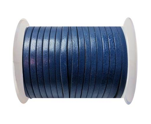 Cowhide Leather Jewelry Cord -3mm-SE_MARINE BLUE