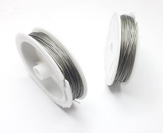 Steel wire 0.8mm - Silver