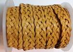 10mm Flat Braided- SE DB 21 - 5 ply braided Leather Cords