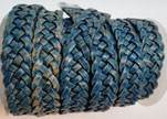 10mm Flat Braided- SE PB 46 - 5 ply braided Leather Cords
