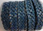 10mm Flat Braided- SE PB 64 - 5 ply braided Leather Cords
