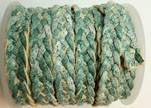 10mm Flat Braided- SE R 733 - 5 ply braided Leather Cords