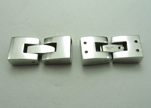 Stainless Steel Snap Lock Clasp -MGST-14-10mm