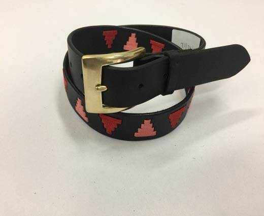 Leather Polo Belt - Style13
