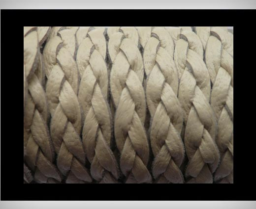 Buy 15mm-Flat Braided-Ivory at wholesale prices