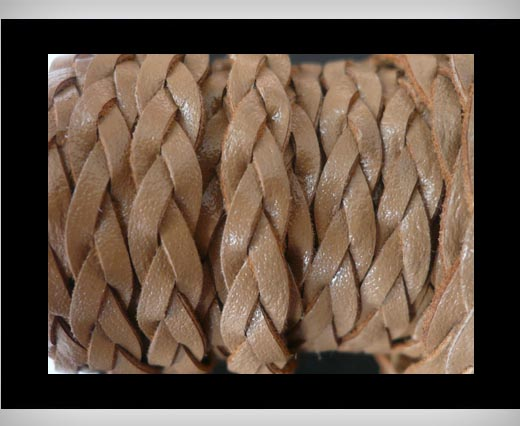 Buy 15mm-Flat Braided-Mokka at wholesale prices