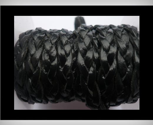 Buy 15mm-Flat Braided-Black at wholesale prices