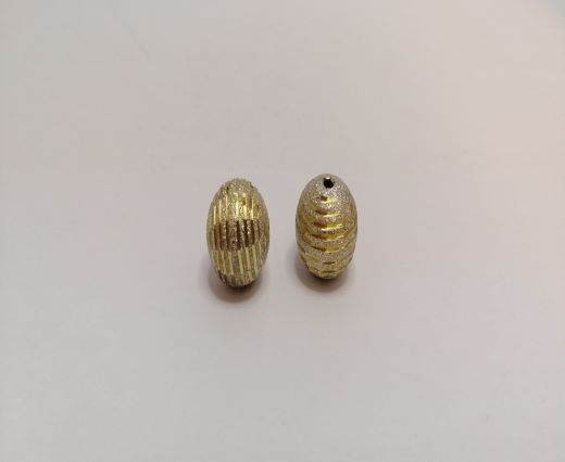 Gold Shinny beads - 16012