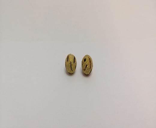 Gold Shinny beads - 16013