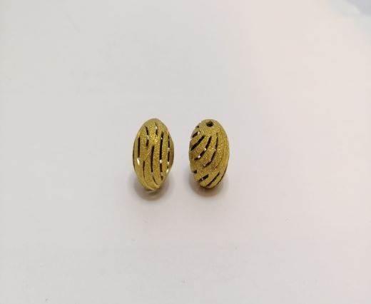 Gold Shinny beads - 16014