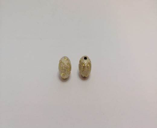 Gold Shinny beads - 16017