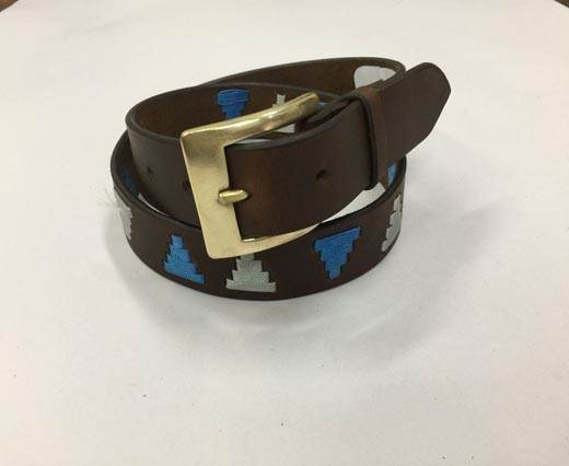 Leather Polo Belt - Style16