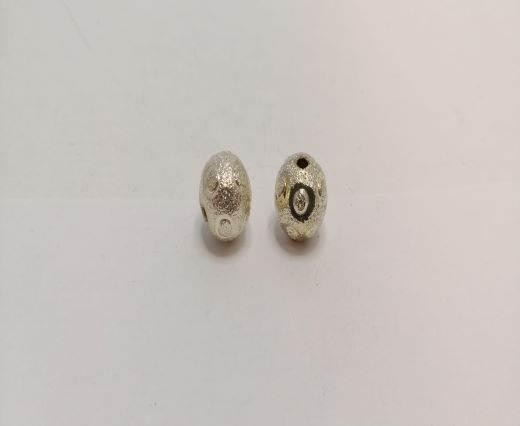 Silver Shinny beads - 17001
