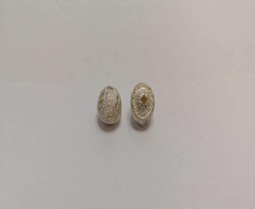 Silver Shinny beads - 17005