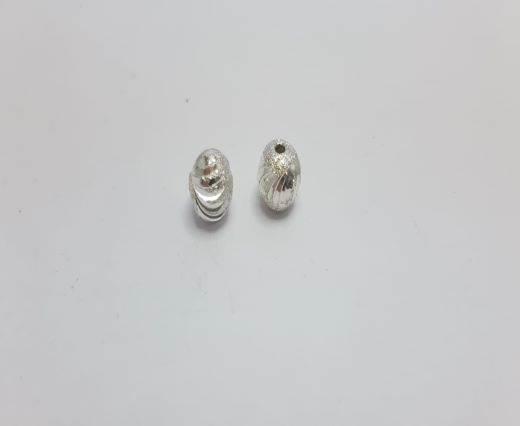 Silver Shinny beads - 17009