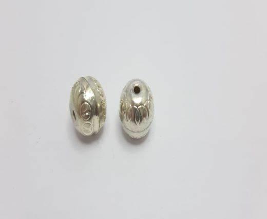 Silver Shinny beads - 17012