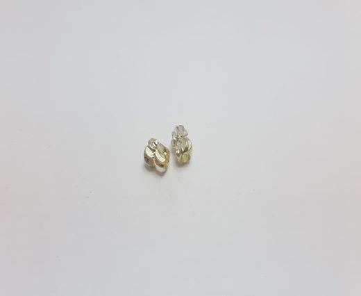 Silver Shinny beads - 17014