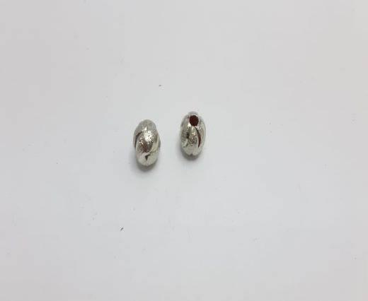 Silver Shinny beads - 17018
