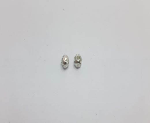 Silver Shinny beads - 17019