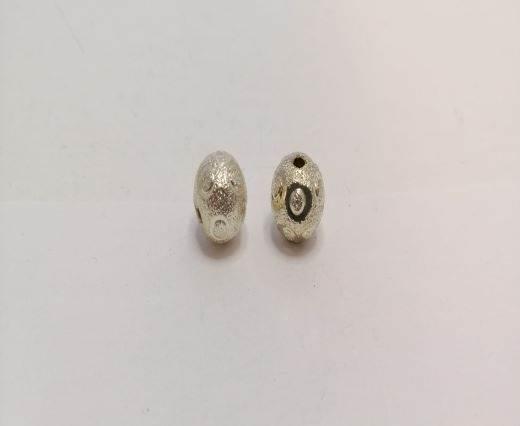 Silver Shinny beads - 17021
