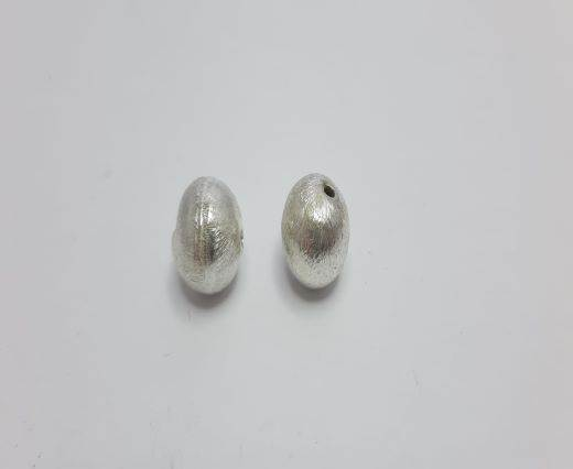 Silver Shinny beads - 17022