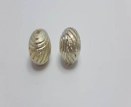 Silver Shinny beads - 17023