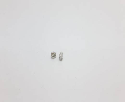 Silver Shinny beads - 17024