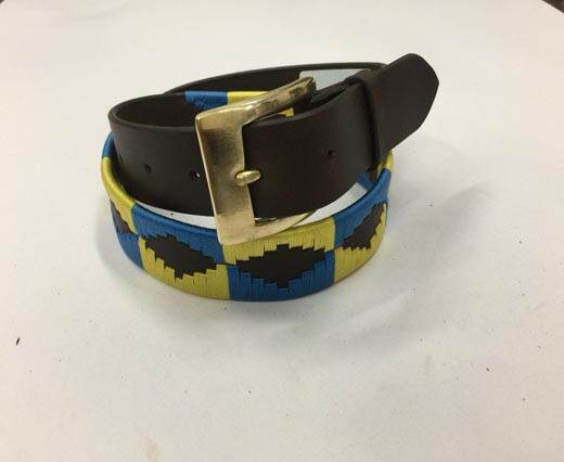 Leather Polo Belt - Style17
