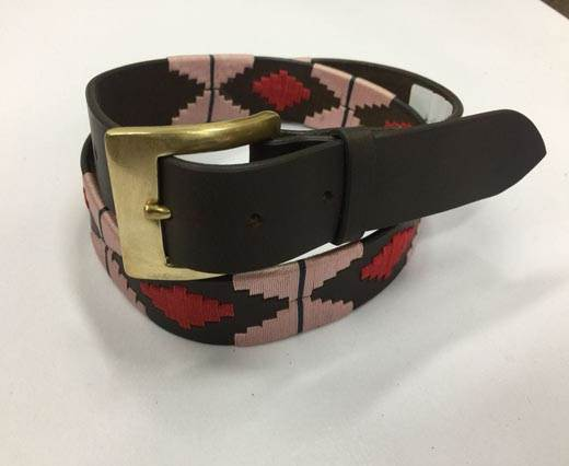 Leather Polo Belt - Style18