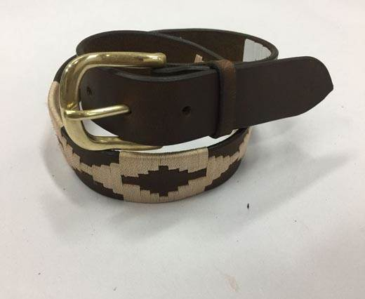 Leather Polo Belt - Style20