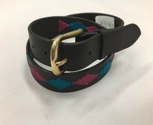 Leather Polo Belt - Style25