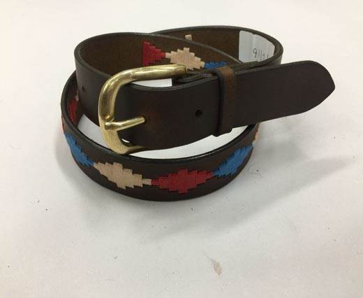 Leather Polo Belt - Style26