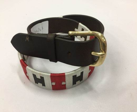 Leather Polo Belt - Style27