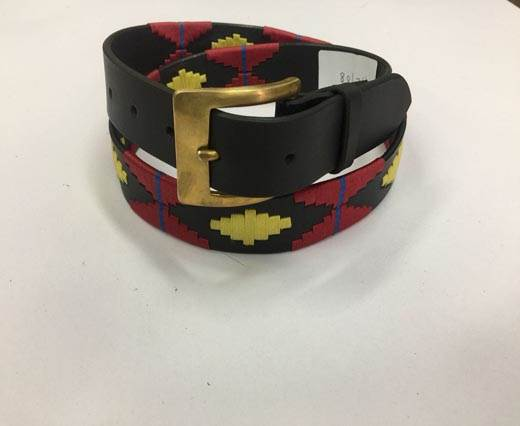 Leather Polo Belt - Style28