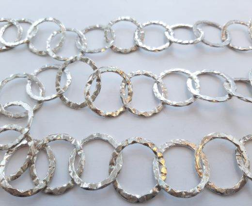 Silver beads chain - 30009