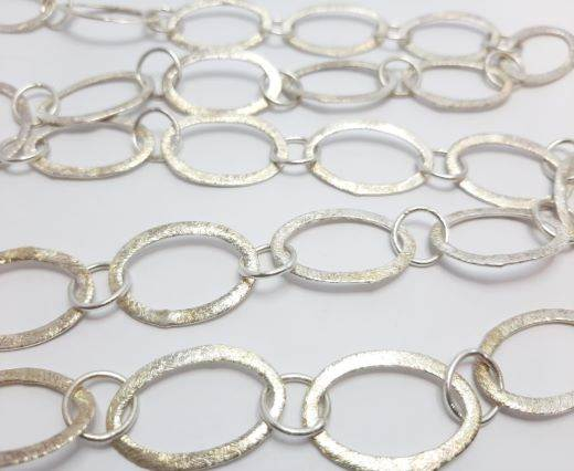 Silver beads chain - 30012