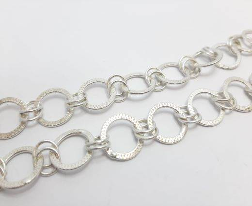 Silver beads chain - 30016