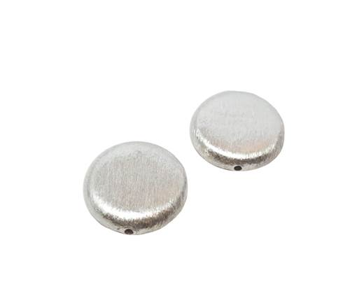 Silver plated Brush Beads - 3037