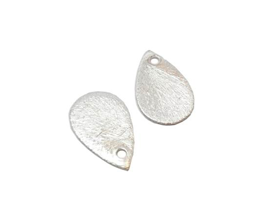 Silver plated Brush Beads - 3044