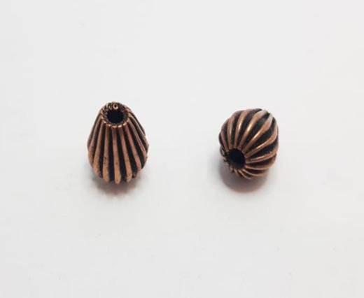 Antique Copper beads - 32003