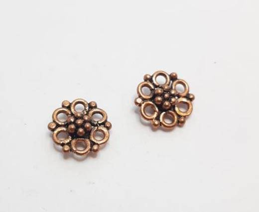 Antique Copper beads - 32008