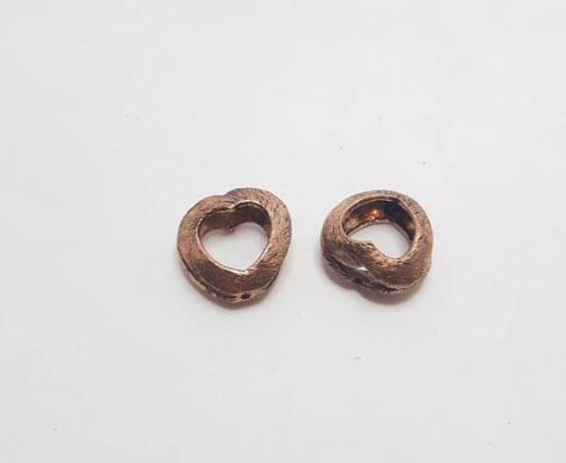 Antique Copper beads - 32018